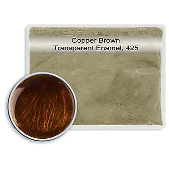 Chumbo transparente esmalte cobre marrom, 425, 25gm