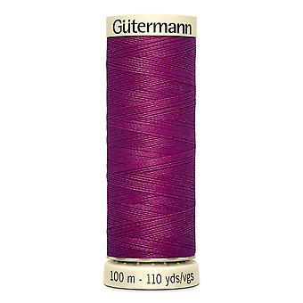 Gutermann sy-alle 100% polyestertråd 100m Hånd- og maskinfarvekode - 247