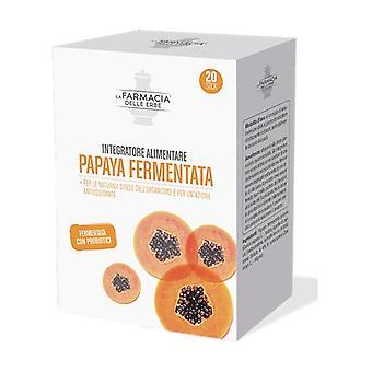Complément alimentaire de Bipacco de papaye fermenté 20 sachets