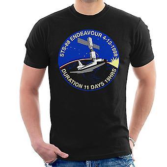 NASA STS 88 Endeavour Badge Men's T-Shirt