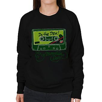 Mountain Dew Mix Tape Women's Sweatshirt