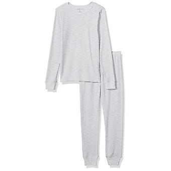 Ensemble de sous-vêtements longs thermiques Essentials Boy-apos;s, Heather Grey, Medium