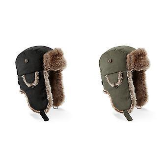 Each Unisex stedelijke Winter Trapper hoed met Faux bont Trim