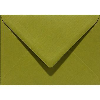 Papicolor 6X Envelope C6 114x162 mm Mossgreen