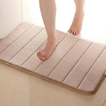 Useful Horizontal Stripes Rug - Absorbent Nonslip Bath Mats For Bathroom