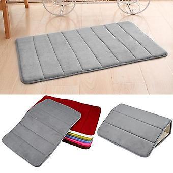 Super absorbant tapis de mousse mémoire antidérapante, tapis pour salle de bains, salon