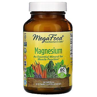 MegaFood, Magnesium, 60 tabletten