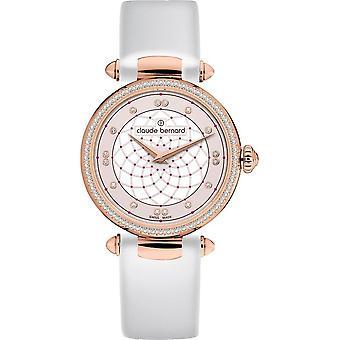 Claude Bernard - Wristwatch - Ladies - Dress Code with stones - 20509 37RC BIR
