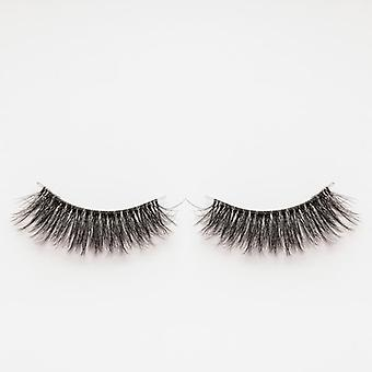 xoBeauty Faux Mink False Lashes - Cupid - Incredible 3D Design and Volume