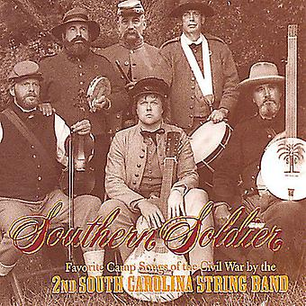 2nd South Carolina String Band - Southern Soldier [CD] USA import