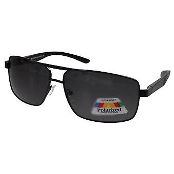 نظارات شمسية للجنسين دخان / أسود (PZ20-093)