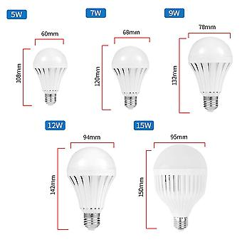 Led Smart Emergency Bulb E27 Ac220v With Rechargeable Battery Lighting Lamp For Outdoor Lighting Bombil
