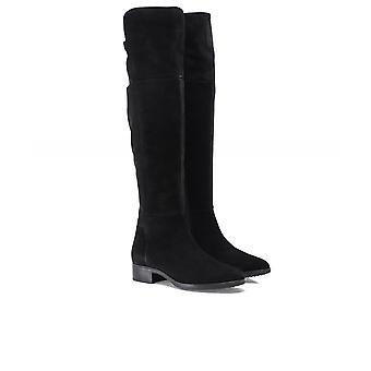 Geox Felicity Suede Knee High Boots