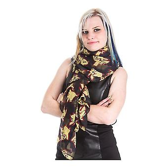 Pokemon Pikachu All-over Print Scarf Unisex Black (SF407334POK)