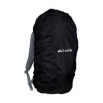 Eurohike Water Repellent Rucksack Cover 25-45L Black