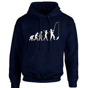 Fishing Evo Evolution Angling Funny Unisex Hoodie 10 Colours (S-5XL) by swagwear