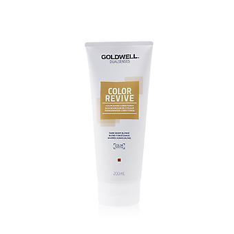 Dual senses color revive color giving conditioner # dark warm blonde 253463 200ml/6.7oz