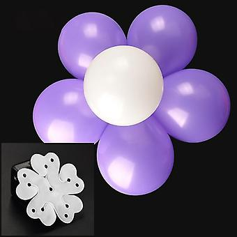 Balloon Clip Plum Blossom Flower- Seal Flower Fixed