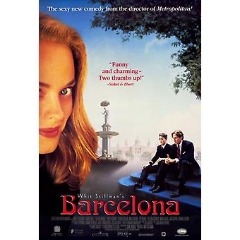 Barcelona elokuvan juliste tulosta (27 x 40)
