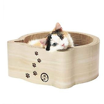 NECOICHI Birch cat basket and cardboard crab furniture