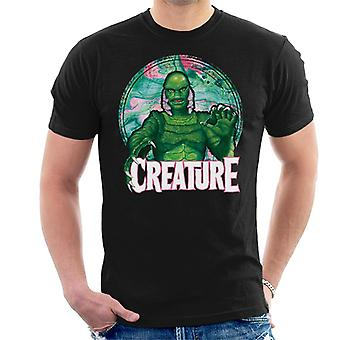 Creature From The Black Lagoon Mix Circle Men's T-Shirt