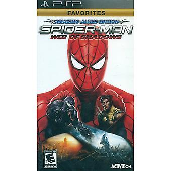 Spider-Man Web of Shadows PSP spel