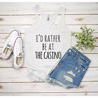 I'むしろカジノのTシャツで
