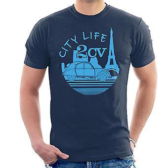 Citro?n 2CV City Life Paris Men's T-Shirt