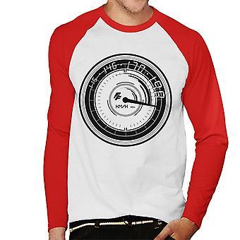 Fast and Furious Speedometer Men's Baseball Long Sleeved T-Shirt