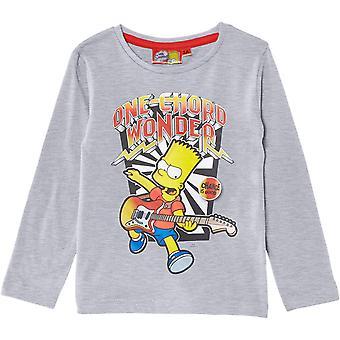 Bart Simpson pojkar Långärmad topp