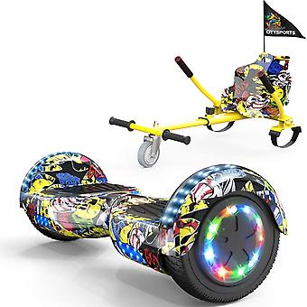 CITYSPORTS Hoverboard Segway with Adjustable Hoverkart