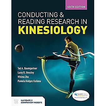 Uitvoerend en lezend onderzoek in kinesiologie