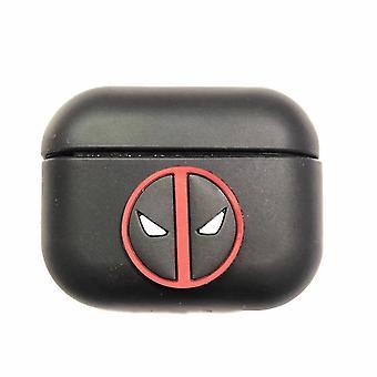 Schutzhülle Avengers Silikontasche für Apple AirPods Pro Black #3