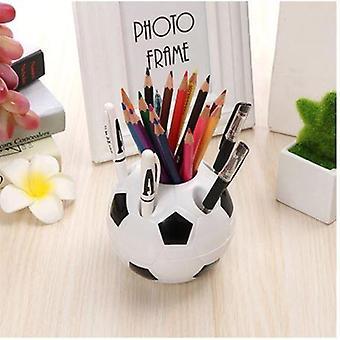 עט כדורגל, מחזיק עפרונות עגול סט שולחן- אביזרים למשרדים, בית ספר,