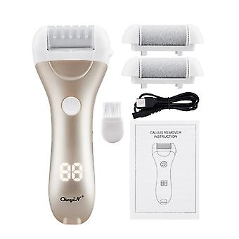 Led electric pedicure foot grinder callus remover