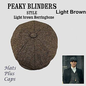 Uusi ruudullinen baretti hattu klassinen retro newsboy hatut miehet ja naiset universal lippis