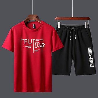 Men's Sport Trainingsanzüge Shirts Polyester Mode Trainingsanzüge T-shirt Shorts