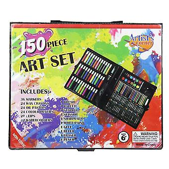 Crayon Water-color Drawing Painting Set Water Pen Oil Pastel Paint Brush Tool