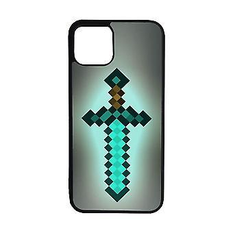 Mincraft Diamond Sword iPhone 12 Mini Shell