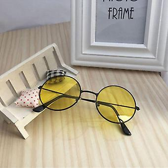 Retro Small Oval Sunglasses Women Vintage Brand Shades Metal Color For Female