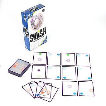 Hauska läpinäkyvä koulutuskortti logiikka peli swish