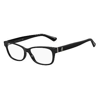 Jimmy Choo JC278 DXF Glitter Black Glasses