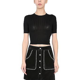 Iro Wp12disybla0121s Women's Black Silk T-shirt