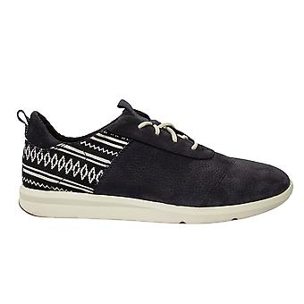 Toms Cabrillo Tribal Iron Grey Nubuck Low Lace Up Womens Formateurs 10011743