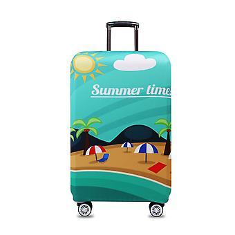 Spandex Travel Luggage Cover Heure d'été