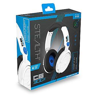 STEALTH C6-300V White Stereo Gaming Headset for PS5