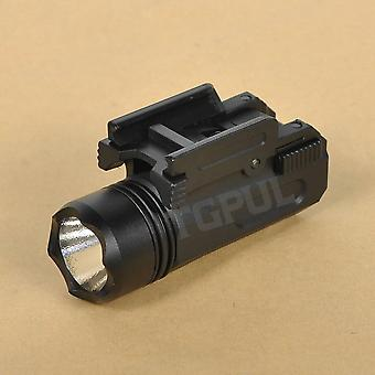 Airsoft Mini Pistol Light, Quick Detach Handgun, Flashlight Led Rifle Gun,