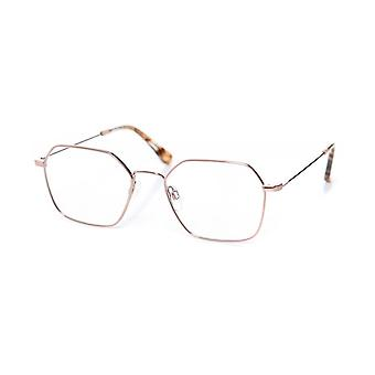Charles Stone Rose Gold Round Glasses
