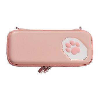 القط مخلب مصمم - علبة حقيبة التخزين المحمولة الصلب شل