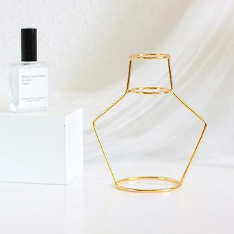 Retro Jern line bord blomster vase
